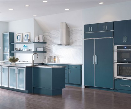 Decora Blue Painted Cabinets Grand Cabinets Grand Cabinets